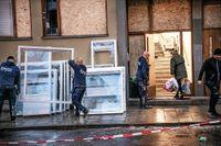 Gyllenstiernsgatan 6, grannfastigheten där en explosion inträffade natten till måndag 13 januari
