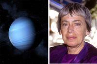 """Ursula K Le Guin (1929–2018). """"Kung av Vinter"""" utspelar sig på den isiga planeten Vinter som befolkas av androgyner."""