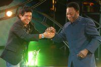 Maradona och Pelé 2005. Arkivbild.