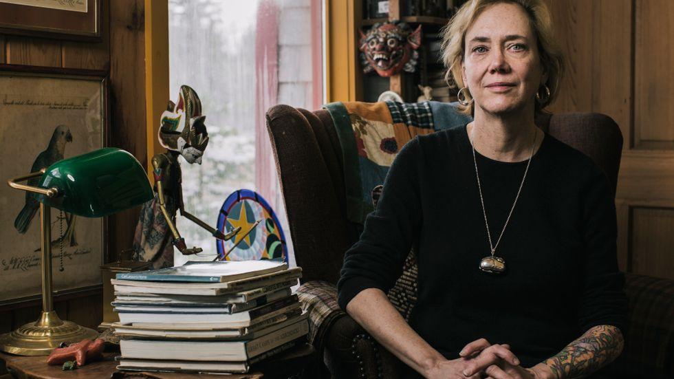 """I arbetet med romanen """"Generation loss"""" återgick Elizabeth Hand till minnet av den våldtäkt hon utsattes för i sin ungdom. """"Lite som att vara en skådespelare som spelar Lady Macbeth kväll efter kväll, att hela tiden tvingas plocka fram den energin. Jag njöt inte alls av att skriva den här boken."""""""