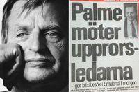 """Så pressades Palme den sista tiden: """"Hedern ifrågasattes"""""""