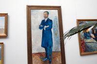 Edvard Munchs porträtt av Ernest Thiel.