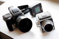 Hasselblads kameror från 1940-talet till dagens digitala produkter.