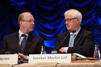 Anders Nyrén och Sverker Martin-Löf