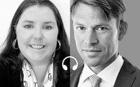 Linnea Lindquist och PM Nilsson.