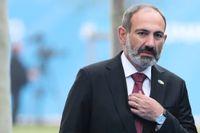 Premiärminister Nikol Pasjinian tar hem valet i Armenien. Arkivbild.