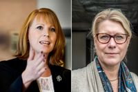 Dåvarande näringsministern Annie Lööf (C) och dåvarande infrastrukturminister Catharina Elmsäter-Svärd (M) KU-anmäls efter SvD:s avslöjande.