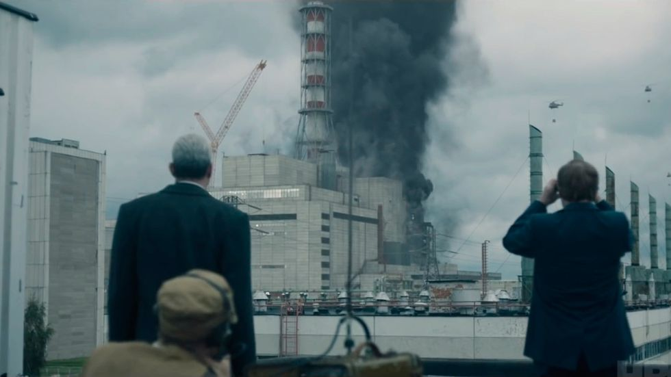 """Katastrofläge i """"Chernobyl""""."""