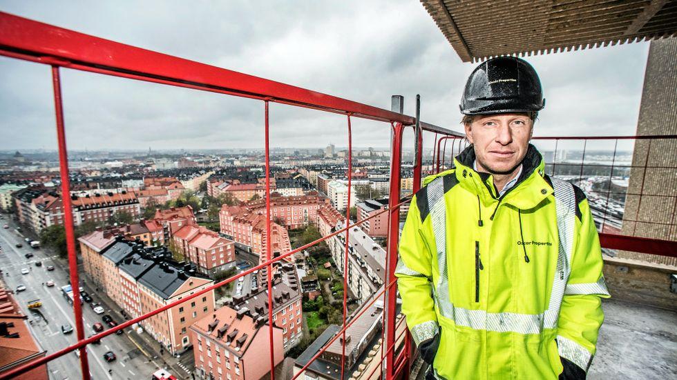 Oscar Engelbert är nu ett steg närmare att förverkliga planerna för Gasklockan.