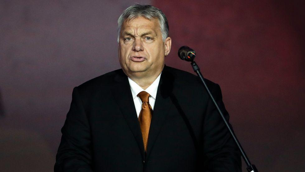 Ungerns premiärminister Viktor Orbán. Bilden är tagen den 17 november.