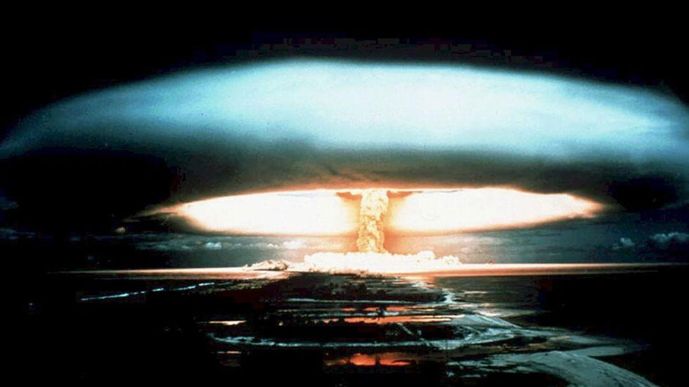 Kärnvapen – ett verkningslöst hot i förhandling.
