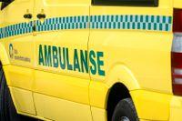 En man som körde på två barn med en ambulans i Oslo i oktober åtalas. Arkivbild.