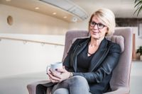 Moderaternas Elisabeth Svantesson.