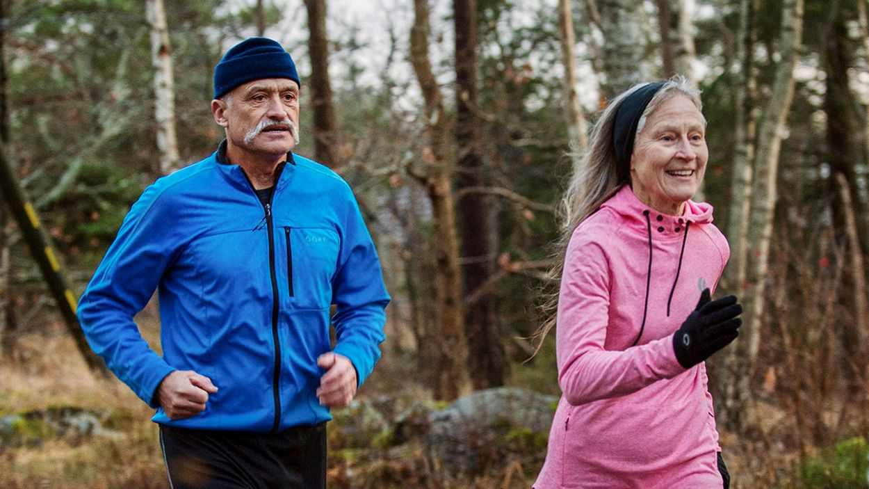 Ultralöpningens pionjärer Rune och Mary Larsson bräcker de flesta när det gäller antal avverkade träningsmil.