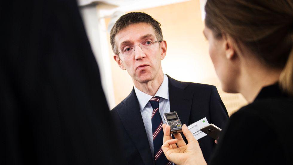 Martin Flodén, vice riksbankschef.