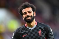Mohamed Salah kommer inte att spela OS med Egypten. Arkivbild.