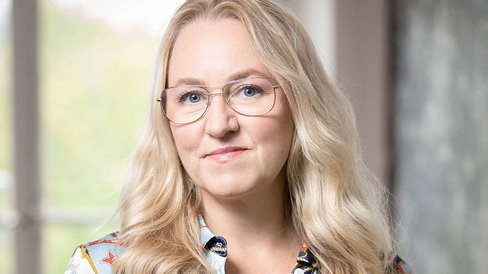 Maria Sunér Fleming, vd för Svemin.