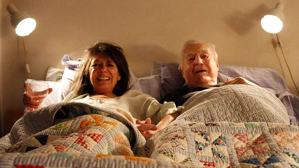 Nyanserad bild av paret Sarnos smutsiga filmarv.