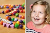 Elise är ett av de barn som drabbats av återfall i cancer.