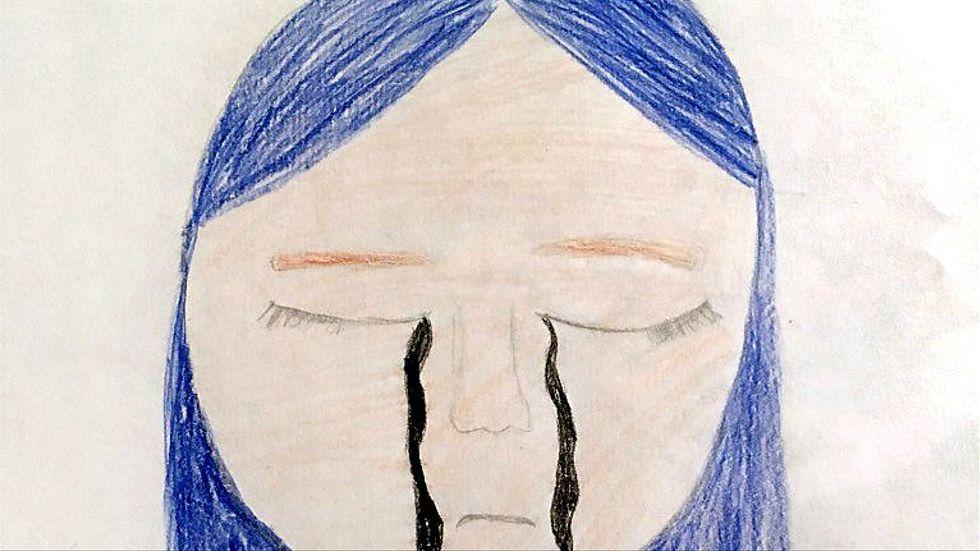 Teckning av Julia, 9 år