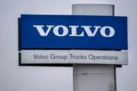 Volvo lastvagnars fabrik i Tuve. Arkivbild.