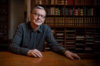 Anders Olsson har varit Svenska Akademiens ständige sekreterare i snart ett år.