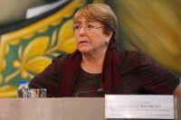 Chefen för FN:s högkommissarie för mänskliga rättigheter Michelle Bachelet uppges ha begärt frigivningarna. Arkivbild.