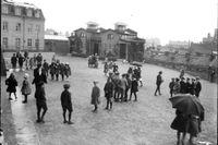 Kvarnbergsskolan i Göteborg 1923.