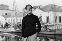 Patrick Leigh Fermor (1915–2011) på Ithaka.