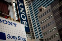 Sonys vinst föll. Arkivbild.
