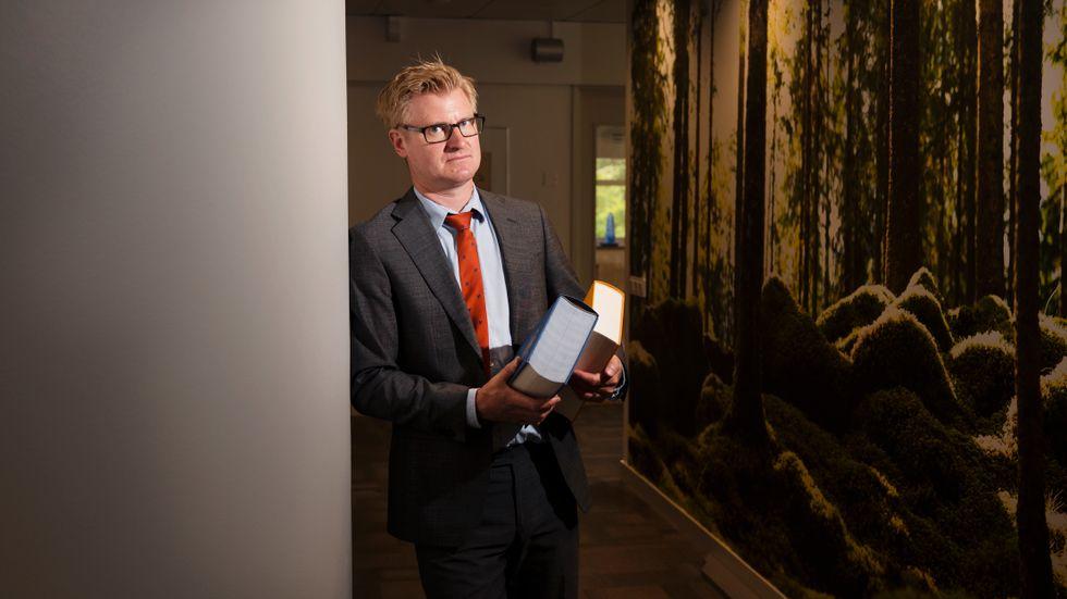 Artikelförfattaren Johan Kjellsson.