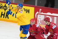 Carl Klingberg kan inte spela vidare i VM sedan han skadats i matchen mot Belarus.