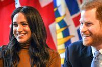 Meghan och Harry har valt att trappa ned sitt engagemang i kungahuset.