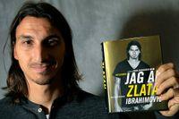 """Zlatan Ibrahimovic presenterade """"Jag är Zlatan""""-biografin 2011. Den blev en världssuccé."""