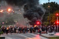 Majoriteten av dem som misstänks för våldsamt upplopp kommer inte från Rosengård, enligt polisen. Arkivbild.