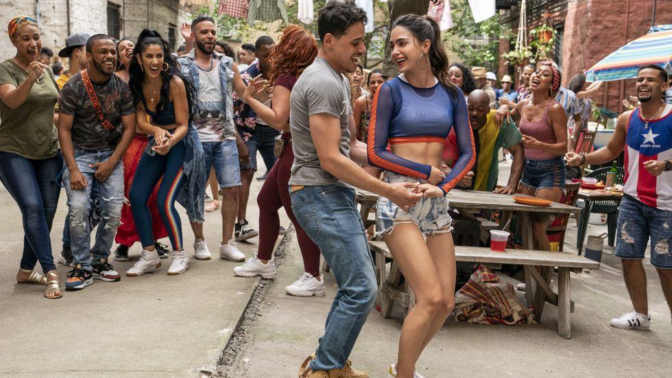 """I """"In the Heights"""" har invånarna alltid nära till ett dansnummer."""