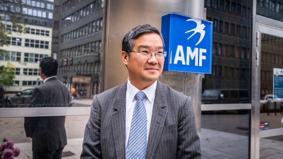 Henrik Oh, förvaltare för AMF:s aktiefond Asien Stilla havet.