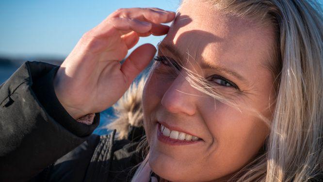 SVT-profilen Carina Bergfeldt.