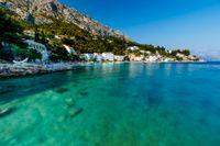 Kombinera bad i Adriatiska havet med stadsliv i Split.