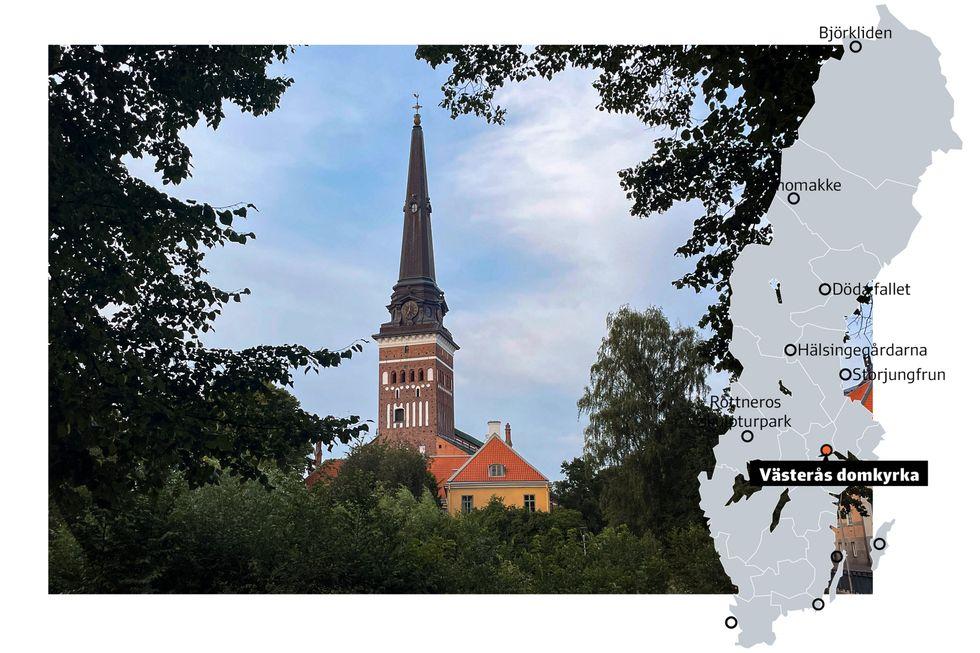 Västerås domkyrka.