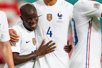 N'Golo Kanté blev matchhjälte för Frankrike.