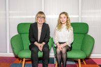 """Juniorreportern Sofia har läst flera av Kristina Ohlssons böcker. Hennes favorit är """"Stenänglar""""."""