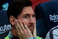 Lionel Messi vilades på bänken – men fick hoppa in och rädda poäng för sitt Barcelona.