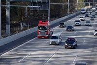 Scania är med och testar elvägar både i Sverige och i Tyskland, bland annat på den hårt belastade motorvägen utanför Frankfurt.