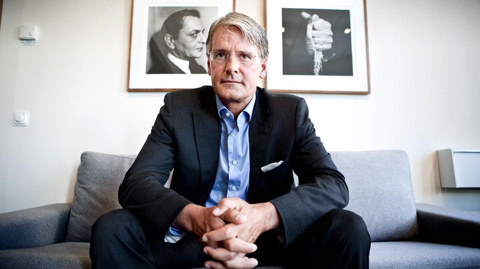 Christer Gardell, grundare av Cevian, ser fortsatt potential i Ericsson.