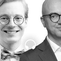 Caspian Rehbinder och Torbjörn Hållö.