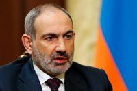 Nikol Pasjinian är Armeniens premiärminister. Arkivbild.