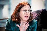 EU:s handelskommissionär Cecilia Malmström. Arkivbild.
