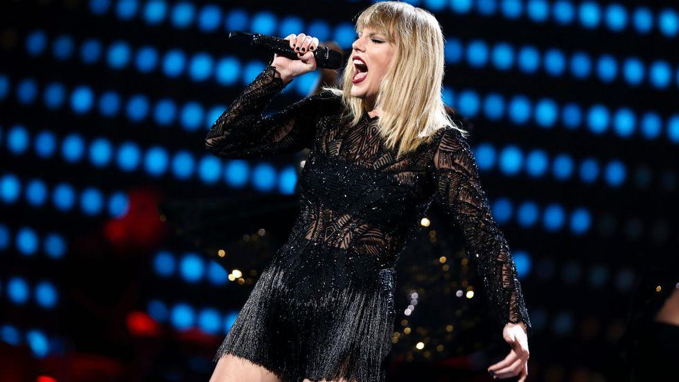 Taylor Swift. Arkivbild.