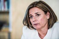 Isabella Lövin (MP) är kritisk mot SD:s förslag på en kraftigt sänkt svensk biståndsbudget.